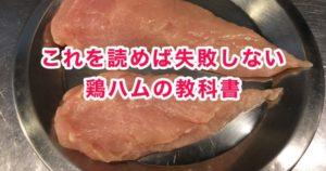 鶏胸肉を安全に低温調理する温度と時間:自作【鶏ハム】【サラダチキン】:カンピロバクターのパスチャライズ