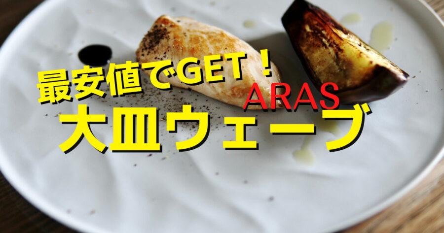 [生涯保証]ARAS大皿ウェーブのレビューとお得な買い方